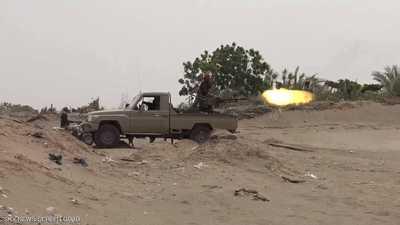 المقاومة اليمنية تصد هجوماً حوثياً شرقي تعز