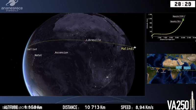 نجاح إطلاق القمر الاصطناعي المصري