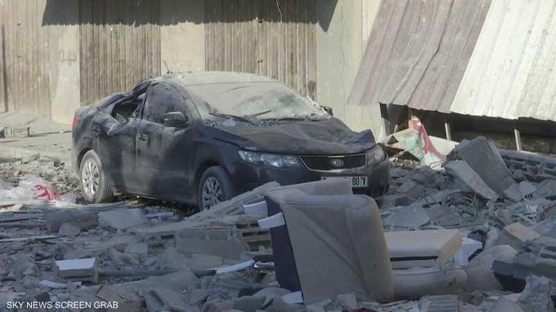 غارات إسرائيلية تستهدف مواقع في غزة