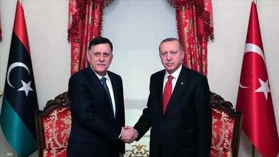 """أردوغان يعلنها صريحة: هدفنا """"السيطرة الكاملة"""" على ليبيا"""