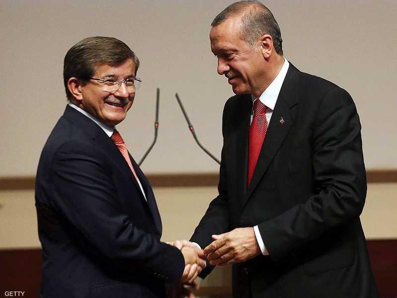 أردوغان وداوود أوغلو.. صورة أرشيفية