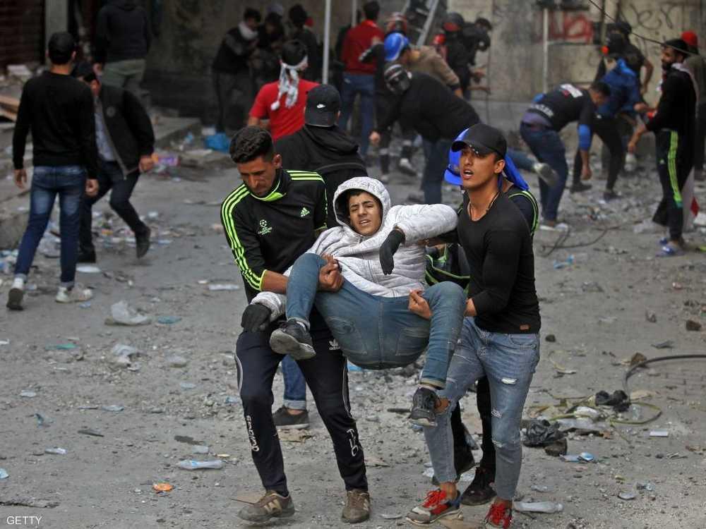 احتجاجات العراق أوقعت مئات الضحايا