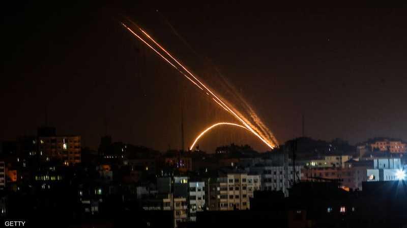 صورة أرشيفية لضربة جوية إسرائيلية على غزة