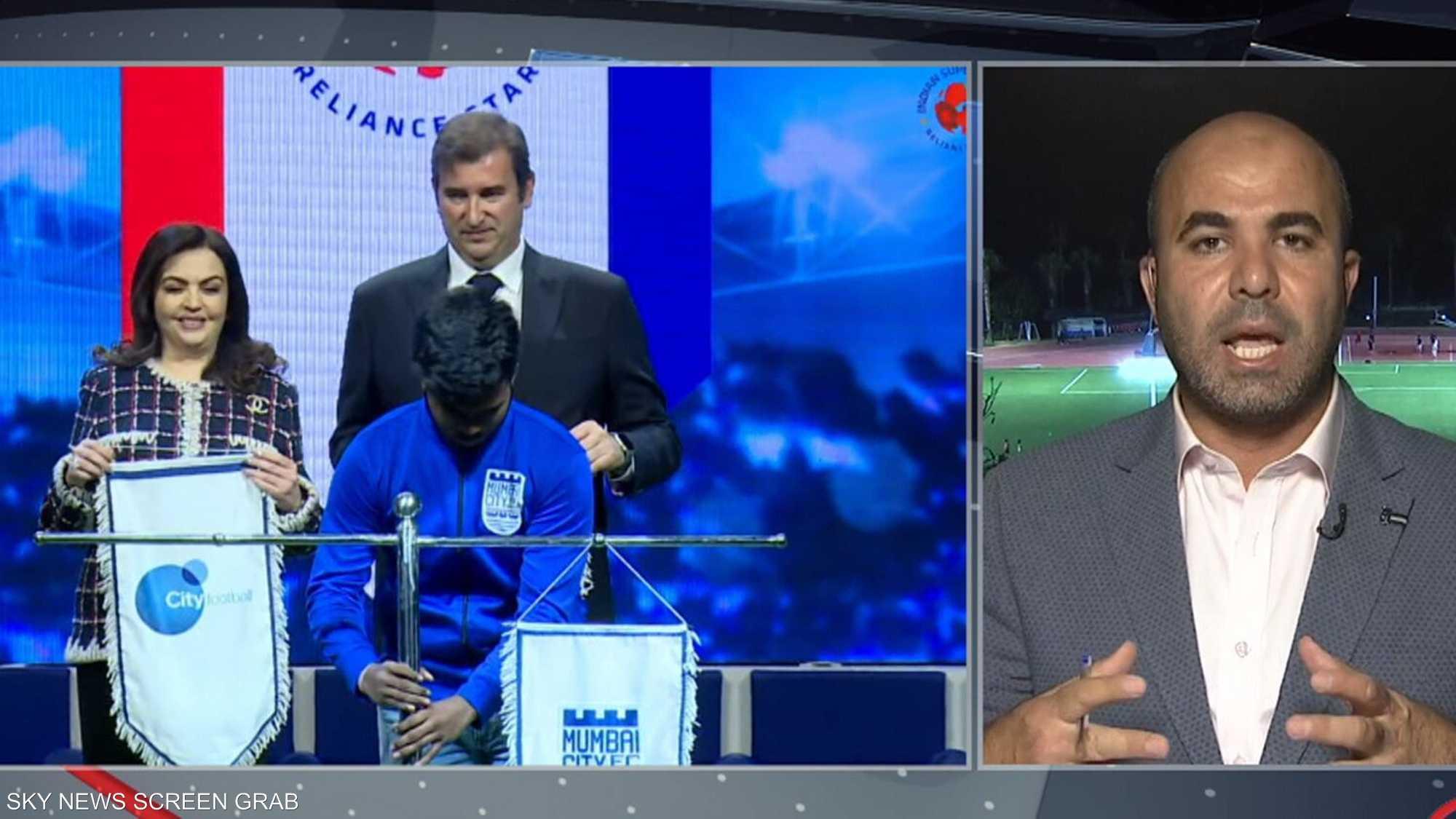 نادي مومباي الهندي ثامن عضو بعائلة سيتي لكرة القدم