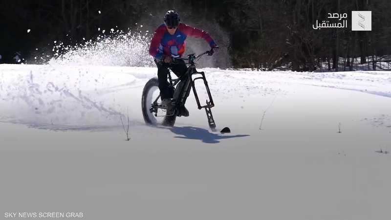 مستقبل التزلج.. دراجة جبلية مبتكرة