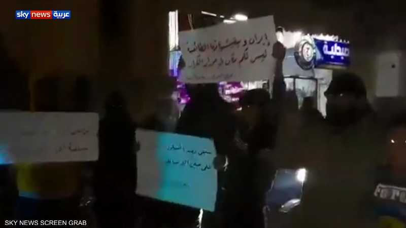احتجاجات بريف درعا للمطالبة بالإفراج عن المعتقلين