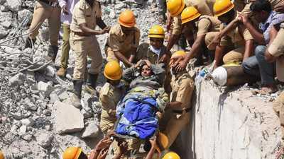 جدار يقتل 17 هنديا أثناء نومهم
