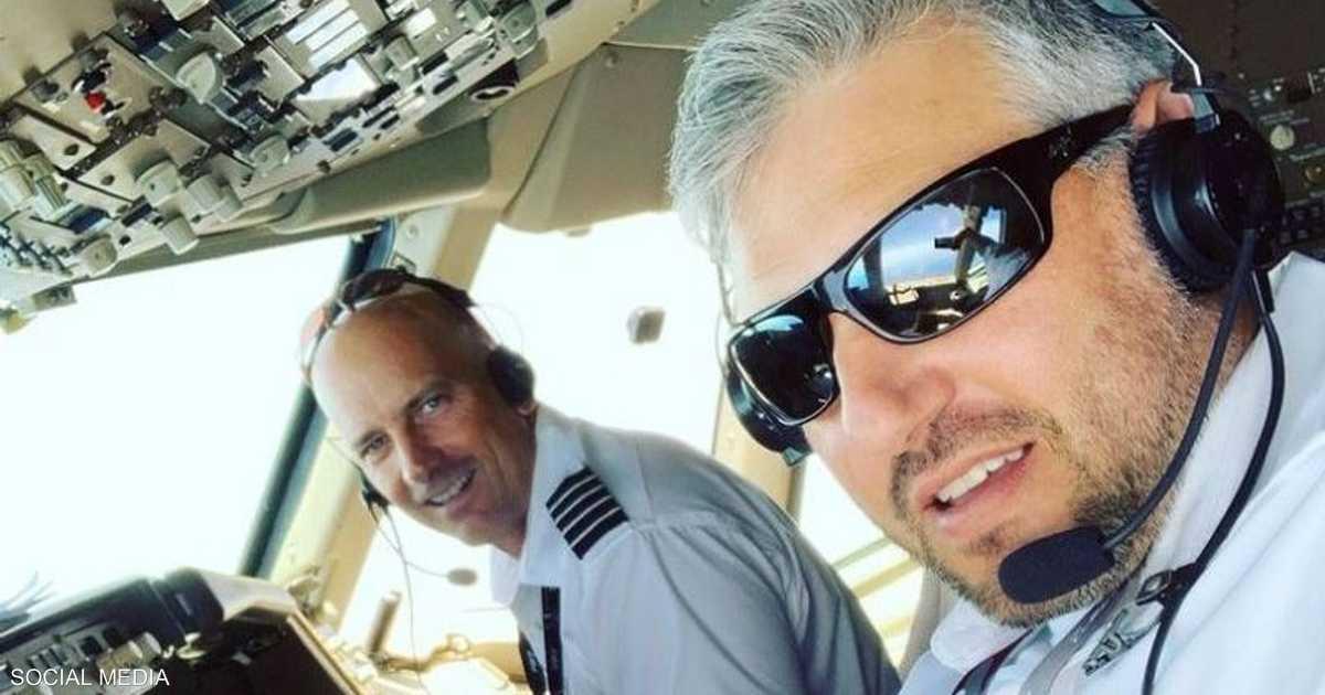 رعب في الجو.. القائد نظر من نافذة طائرته