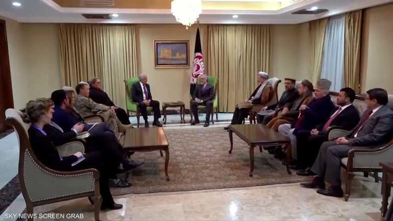 واشطن تعلن نيتها استئناف المفاوضات في أفغانستان