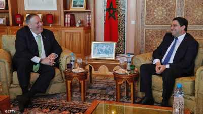 """""""التدخل الإيراني"""" يتصدر مباحثات بومبيو خلال زيارته المغرب"""