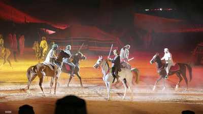 """""""مطايا البيان"""" تفتتح مهرجان الشارقة للمسرح الصحراوي"""