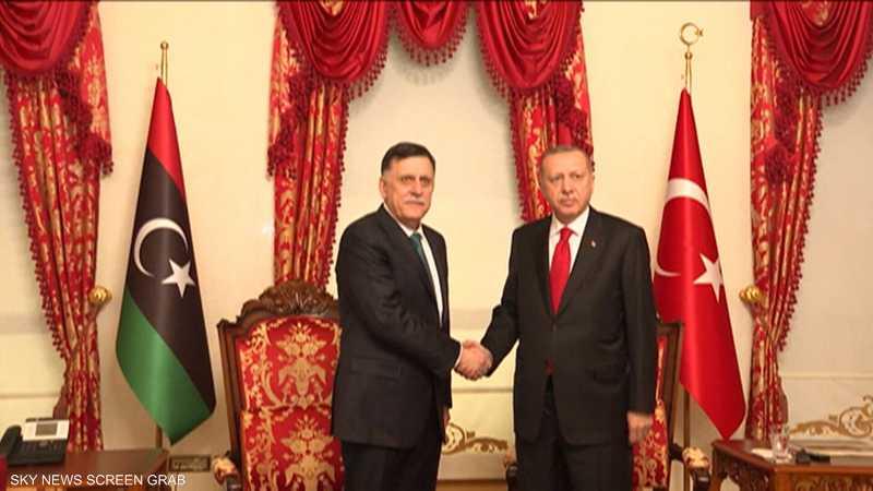 اتفاق ليبيا وتركيا