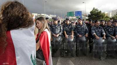 """تصاعد باحتجاجات لبنان قبل بدء """"الاستشارات النيابية"""""""