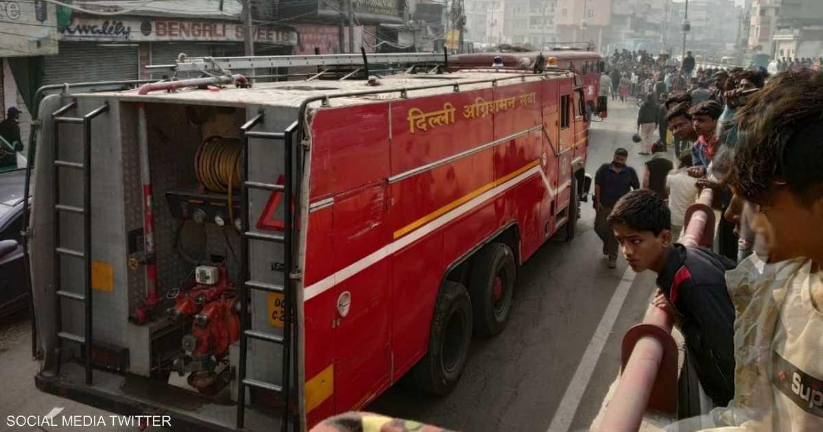 حريق مصنع في الهند يودي بحياة 30 شخصا