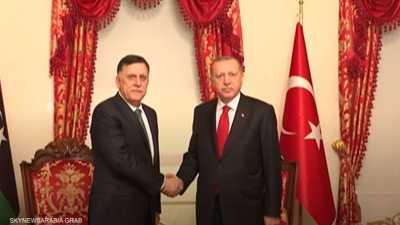 """اتفاق """"أردوغان والسراج"""" ... رسائل مسمومة وسعي لإشعال المتوسط"""