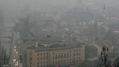 عاصمة دولة أوروبية تعاني من تلوث هواء خطير