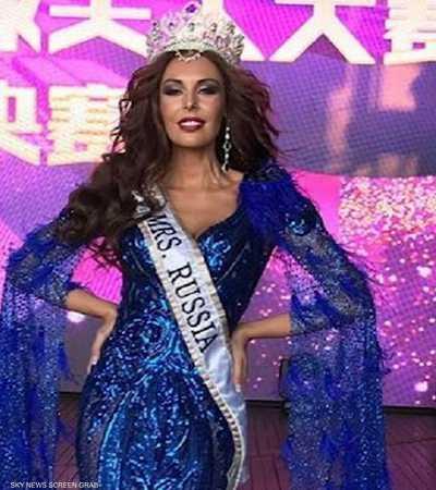 """روسية تنتزع لقب """"ملكة جمال المتزوجات عالميا"""""""