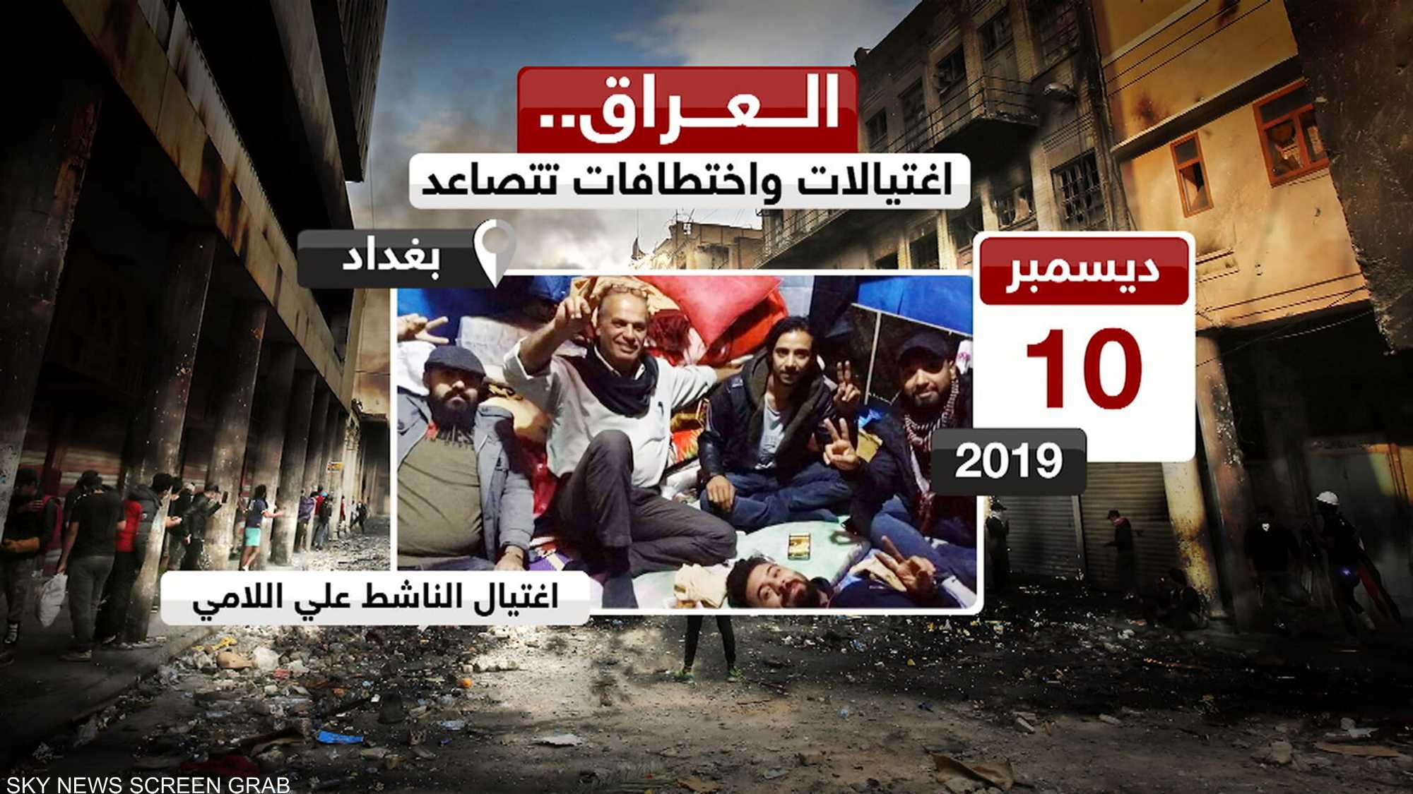 العراق.. اغتيالات واختطافات تتصاعد