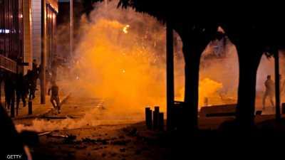 لبنان.. إصابة العشرات بالرصاص المطاطي والغاز المسيل للدموع