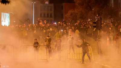 """بيروت تشهد """"الليلة الأعنف"""" منذ بداية الاحتجاجات"""