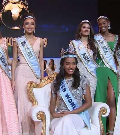 """الجامايكية """"تونى آن سينج"""" ملكة جمال العالم"""