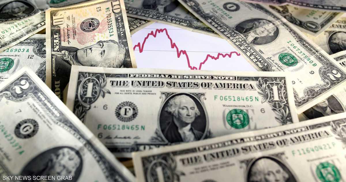 الدولار يتراجع لأدنى مستوى له في ثلاثة أسابيع   أخبار سكاي نيوز عربية
