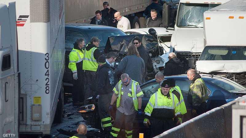 من حادث سابق في بنسلفانيا