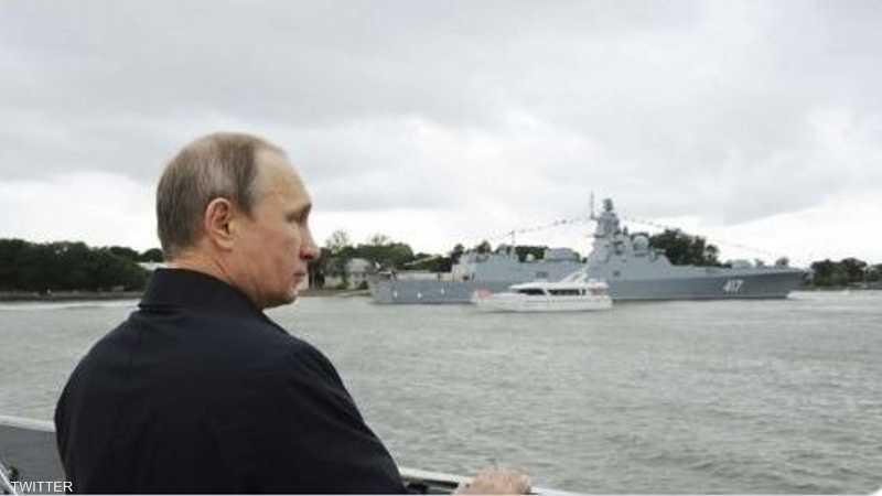 بوتن أشرف على التدريب في البحر الأسود