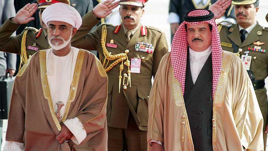 مع ملك البحرين الشيخ حمد بن عيسى آل خليفة
