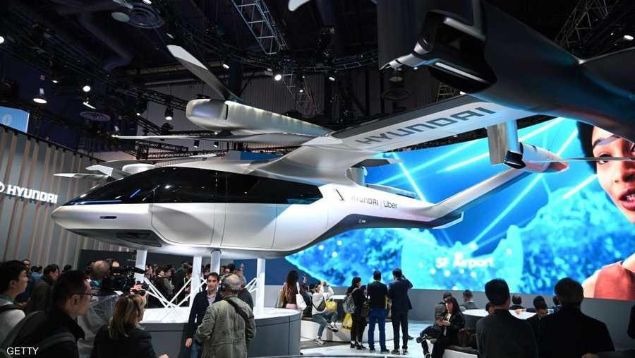 """التاكسي الطائر من هوندا """"هيونداي أس-إيه 1"""" يعكس مفهوم النقل الجوي في المناطق الحضرية"""