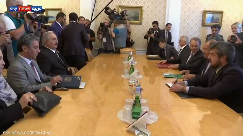 مفاوضات في موسكو بشأن الأزمة الليبية