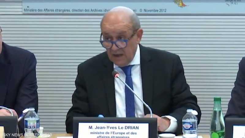 باريس: اتفاق أنقرة وحكومة الوفاق في ليبيا يثير القلق