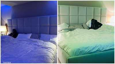 """""""سرير لوكاكو"""" يثير الجدل.. هل يتسع لـ15 شخصا؟"""