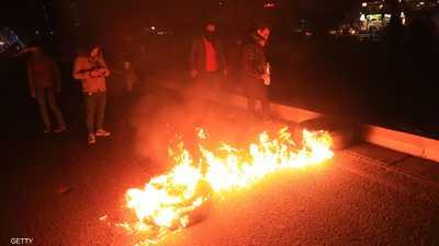 الاشتباكات تتجدد بين محتجين وقوات الأمن في كربلاء