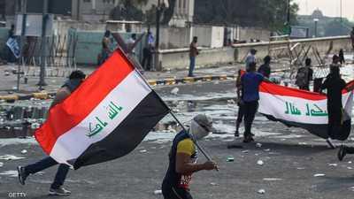 """العراق.. جرحى في ساحة التحرير.. ومدن الجنوب تستعد """"للتصعيد"""""""