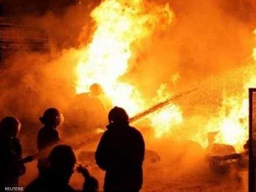 ضحايا الحريق عمال من المهاجرين