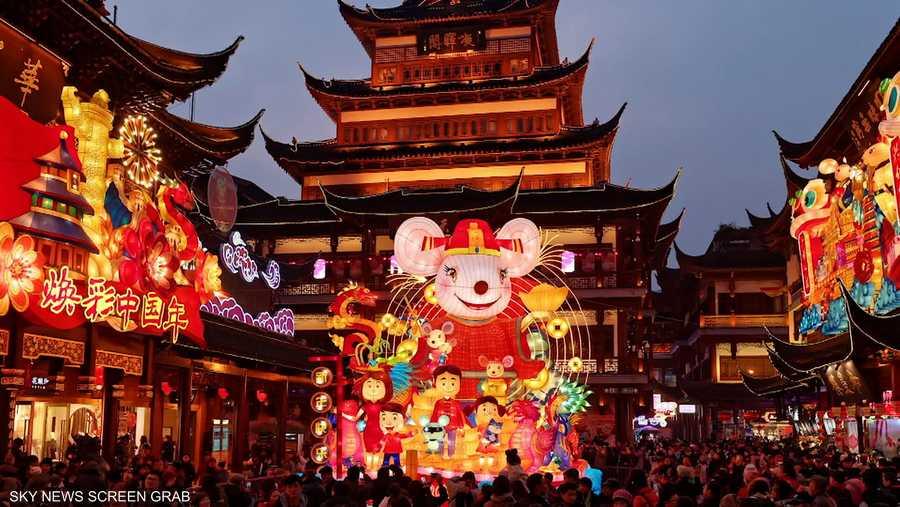 """""""كورونا"""" يهدد احتفالات الصين بالسنة القمرية"""