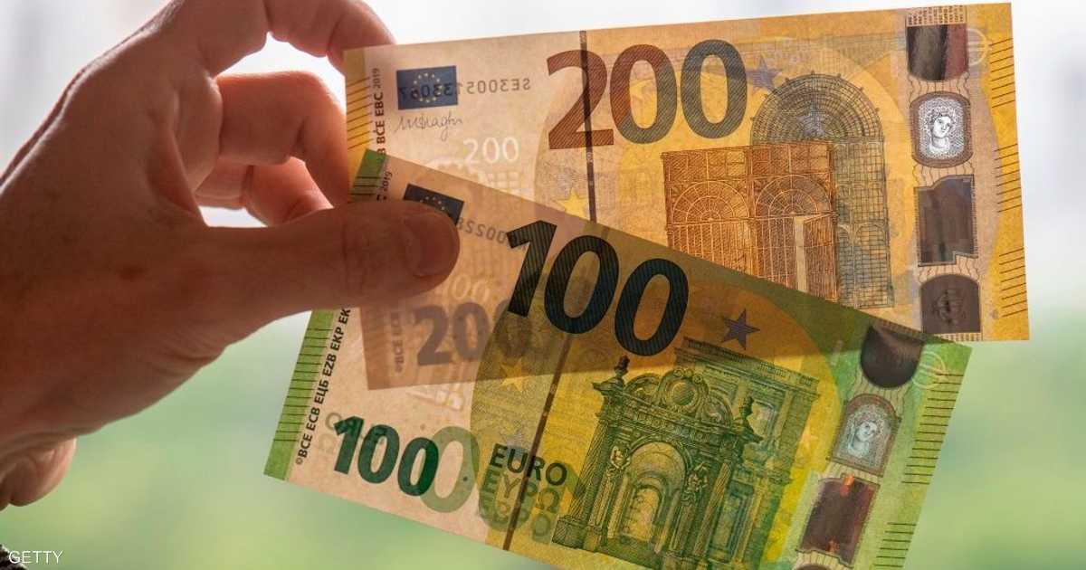 اليورو يهبط لأدنى مستوى في 7 أسابيع