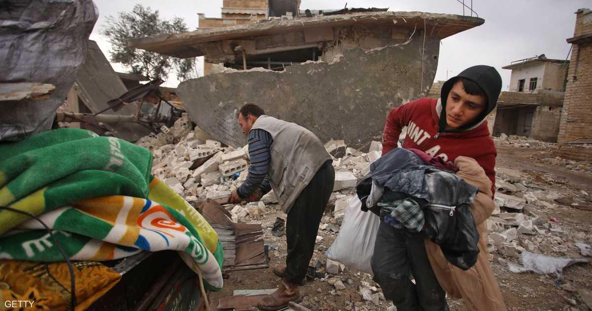 غارات على شمالي سوريا تهجر الآلاف بأقل من أسبوع