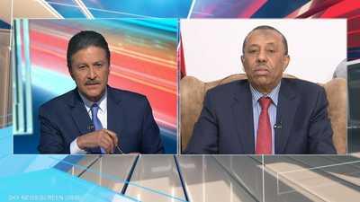 مواجهة مع عبد الله الثني رئيس الحكومة الليبية.