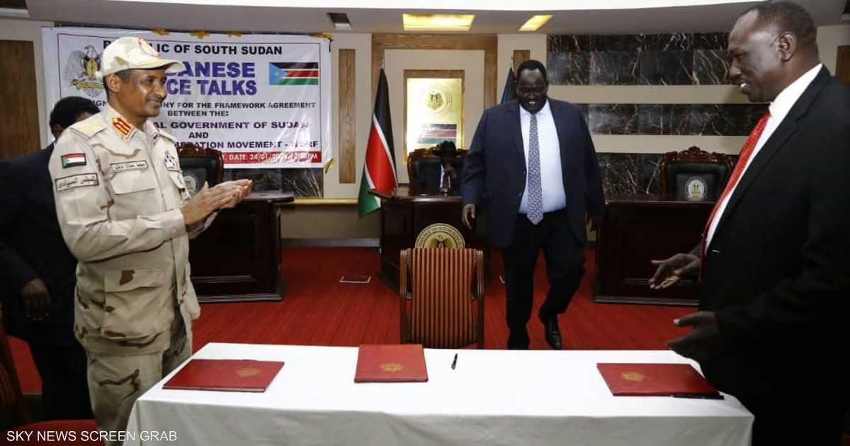 توقيع اتفاق سلام أولي بين الخرطوم والحركة الشعبية-شمال