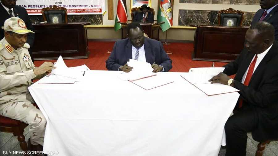 يمنح الاتفاق جنوب كردفان والنيل الأزرق وضعا خاصا.
