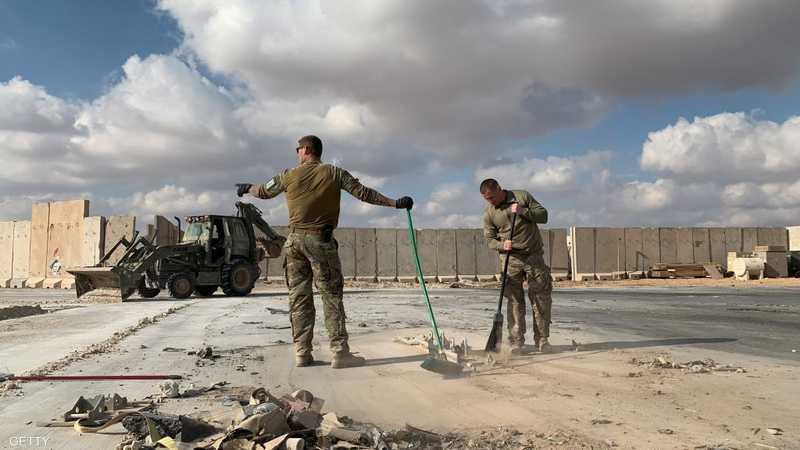 إيران قصفت قاعدة عين الأسد في يناير