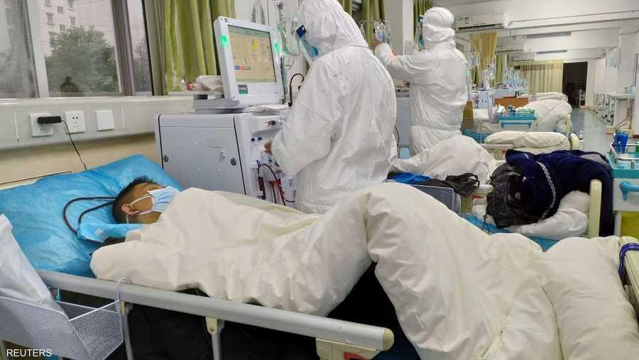 عدد حالات الإصابة المؤكدة بالفيروس في الصين يبلغ الآن 1975
