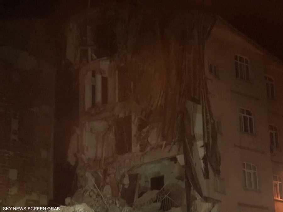 """دمار كبير خلفه زلزال تركيا """"القوي"""""""