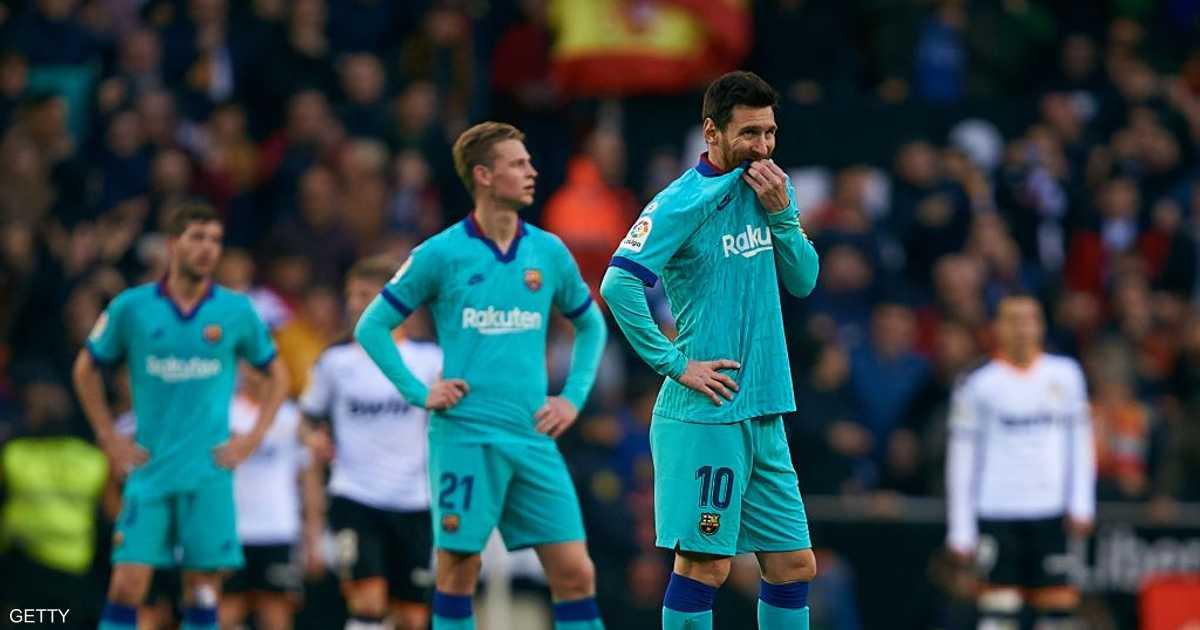 كيكي يتلقى أول هزيمة في مشواره الجديد مع برشلونة