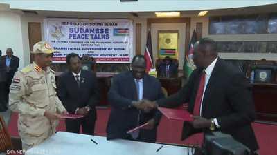 السودان.. توقيع اتفاق سلام مع جنوب كردفان والنيل الأزرق