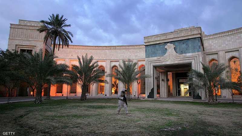 جانب من السفارة الأميركية في بغداد