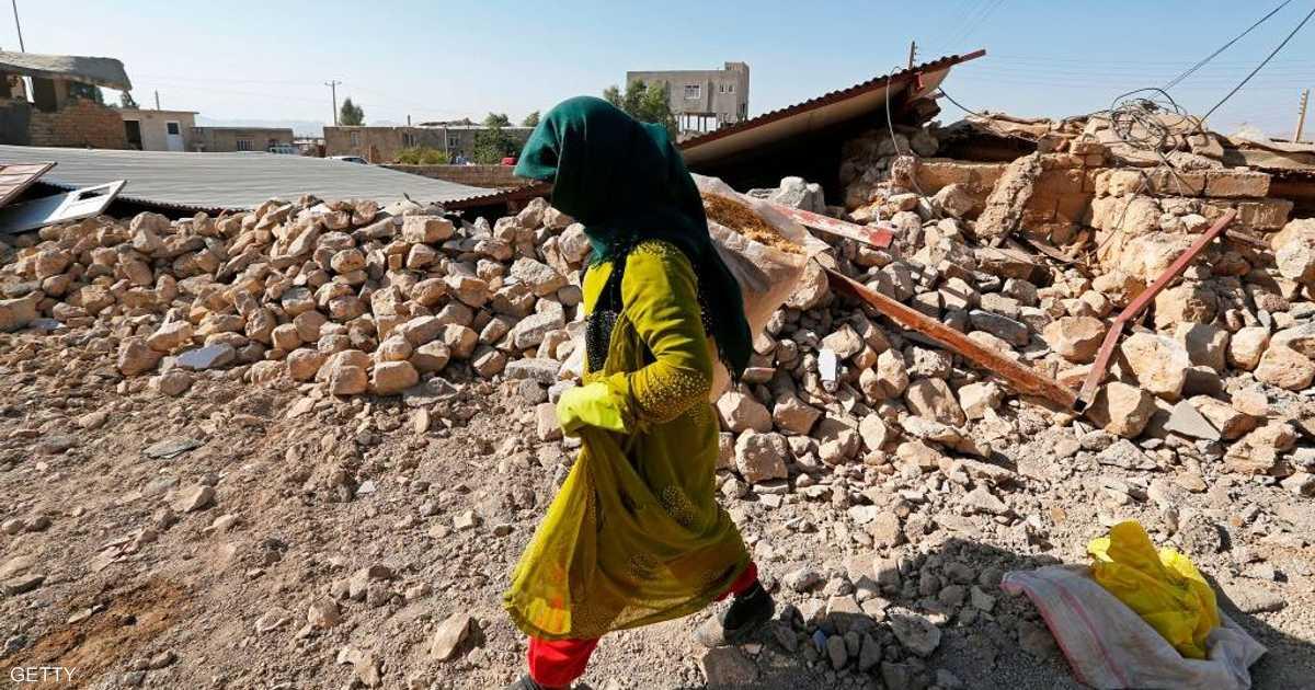 زلزال يهز جنوبي إيران   أخبار سكاي نيوز عربية