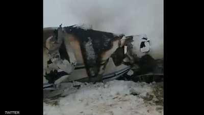 فيديو متداول للطائرة الأميركية التي أسقطتها حركة طالبان